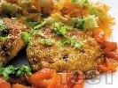 Рецепта Зеленчукови кюфтета с картофи, спанак и броколи